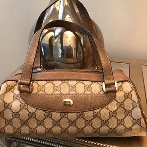 Vintage GG Gucci Monogram Supreme Bag